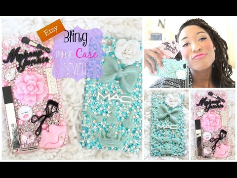 Etsy iPhone 6 Plus Bling Case Reviews 2015 | Nikki G