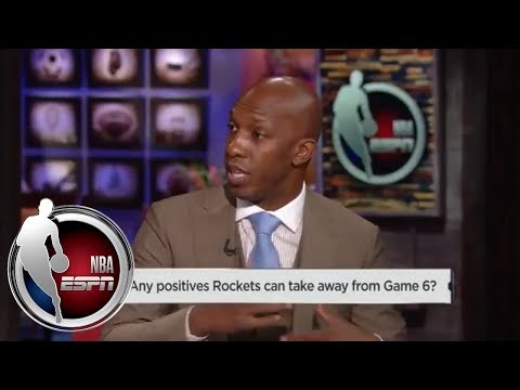 Chauncey Billups: How Rockets can beat Warriors in Game 7 without Chris Paul | NBA Countdown | ESPN