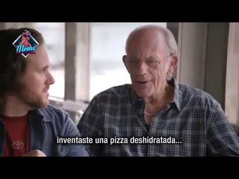 Back To The Future: Marty McFly Y El 'Doc' Cambian Su DeLorean Por Un Toyota Mirai (Subtitulado)