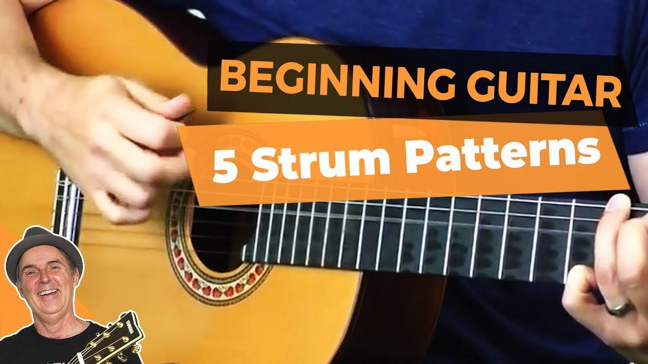 Acoustic Guitar Strumming Patterns Cool Design