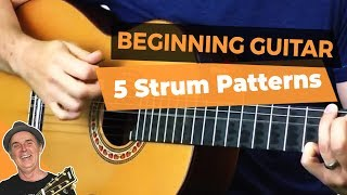 Strum Patterns For Beginners | 5 Best Guitar Strumming Patterns for Beginning Guitar