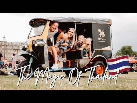 AMAZING THAI FOOD FESTIVAL IN CAMBRIDGE 2021!! (UK FAMILY VLOGGERS)