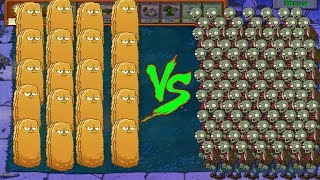 Plants Vs Zombies hack mod - Wall nut vs 999,999 Zombies