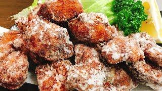 鮭から(鮭ザンギ)|こっタソの自由気ままに【Kottaso Recipe】さんのレシピ書き起こし