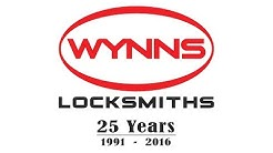 WYNNS LOCKSMITHS 25 Years 1991 - 2016