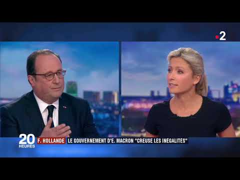 FRANÇOIS HOLLANDE DÉFEND SON BILAN SUR FRANCE 2
