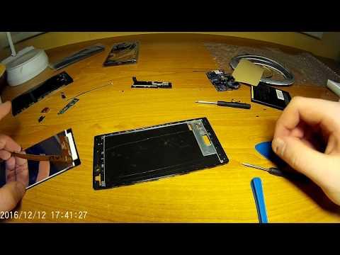 Lenovo P70 výměna displeje s dotykem a plastovýmy kryty (disassembly, assembly and housing change)