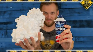What Happens When You Freeze Dry Shaving Cream?