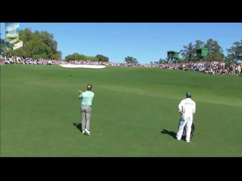 Ballstriking Star Charley Hoffman's Great Golf Shot Highlights 2017 Masters Tournament Augusta