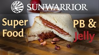 Superfood Peanut Butter and Jelly Sandwich | Jason Wrobel
