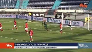 Barranquilla vs. Cortuluá (2-2) | Torneo Aguila 2019-1 | Fecha 4
