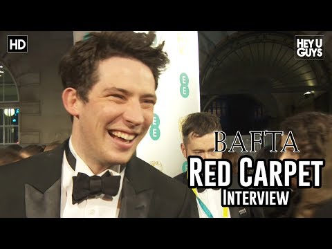 Josh O'Connor (God's Own Country) - BAFTA Awards 2018 Red Carpet Interview