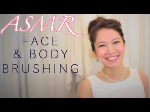 ASMR Roleplay *Full Face and Body Brushing From Head to Toe*
