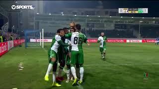 Goal | Golo Wendel: Feirense 0-(1) Sporting (Taça de Portugal 18/19 1/4 Final)