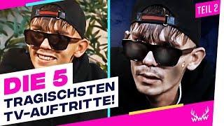 Die 5 TRAGISCHSTEN TV-Auftritte von YouTubern! - Teil 2 | TOP 5