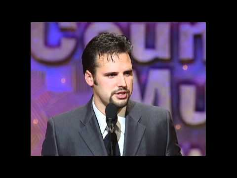 Mark Wills Wins Top New Male Vocalist - ACM Awards 1999
