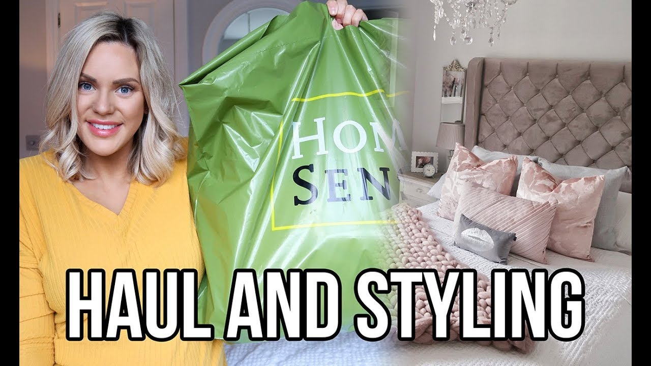 HOMESENSE HAUL 2019 | WHAT'S NEW IN HOMESENSE AND HOW I STYLE MY NEW HOMEWARE BUYS