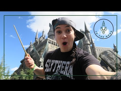 Harry Potter Wizarding World Hollywood | To The Moon | BZLeigh