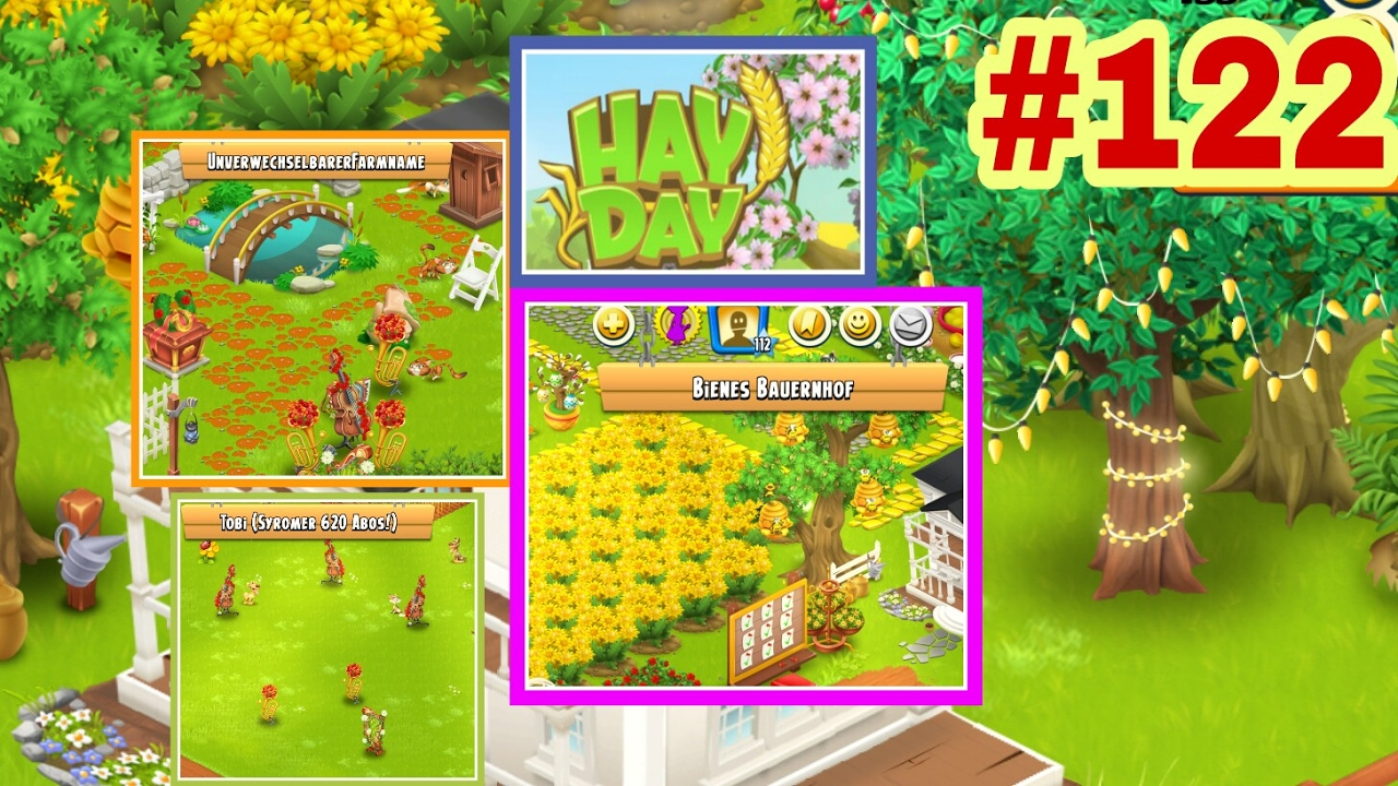 Hay Deutsch Lets Play Hay Day Deutsch Neue Stadt Dekoration Farm