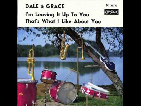 Dale And Grace - I'm Leaving It Up To You Billboard Nr 1 (nov 23 1963)