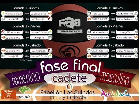 UNICAJA '04 vs AD ASUNCIÓN    FEMENINO    #FaseFinalCadete