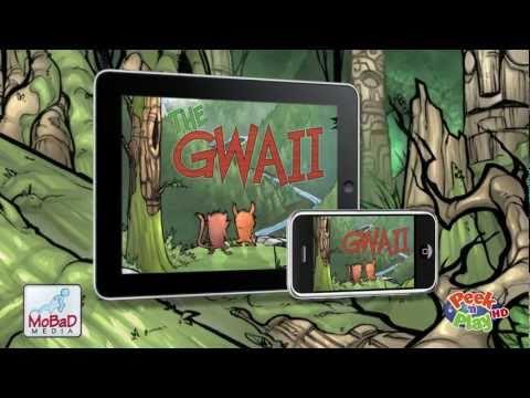 The Gwaii - 3D comic book for iPhone, iPad, & Mac
