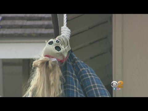 Funny Or Racist? Neighbors In Trabuco Canyon Neighborhood Debate Halloween Decorations