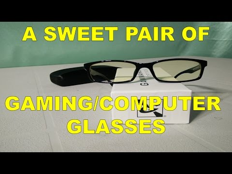 Gamma Ray FlexLite GR001 Unboxing (Gamma Ray Optics Gaming/Computer Glasses)