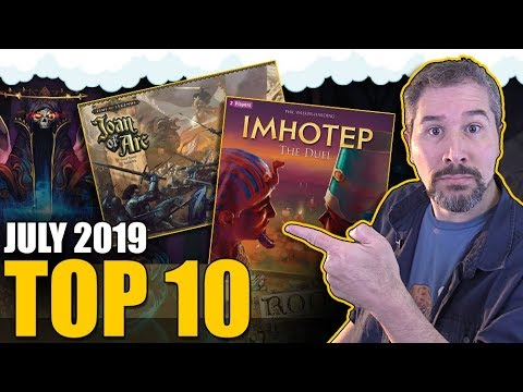 Top 10 Hottest Board Games: July 2019 from YouTube · Duration:  13 minutes 25 seconds