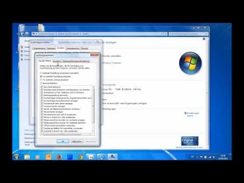 Windows 7 Leistung Optimieren [HD]