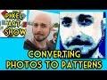 Perler Bead Tutorial: How to convert Photos to Patterns - Pixel Art Show