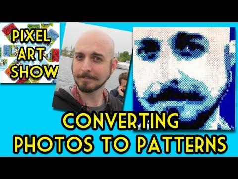 Perler Bead Tutorial How To Convert Photos To Patterns Pixel Art