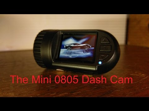 Mini 0805 Dash Cam Unboxing And Review