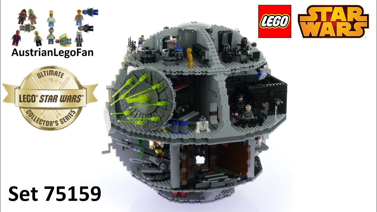c6f89efa3 Lego Star Wars 75159 Death Star 2016 Ultimate Collectors Series - Lego  Speed Build Review