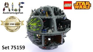 Lego Star Wars 75159 Death Star 2016 Ultimate Collectors Series - Lego Speed Build Review