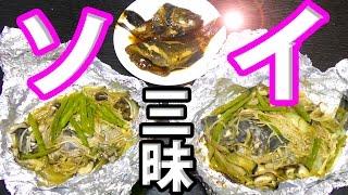 釣った高級魚で煮付けとホイル焼き作ったら美味すぎた!