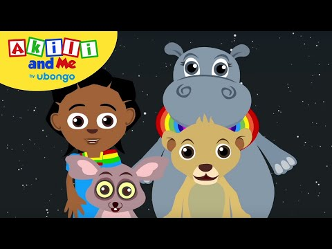 STORYTIME: The Sun, Moon and Stars! | New Words with Akili and Me | African Educational Cartoons