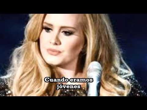 Adele  When We Were Young - Subtitulada Español