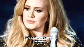 Adele  When We Were Young - Subtitulada Español