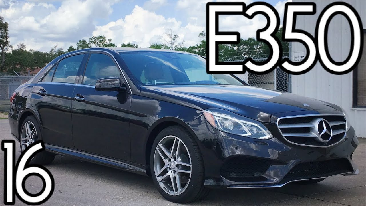 2016 mercedes benz e350 sedan full review start up for Mercedes benz e3 50
