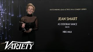 'Hacks' Star Jean Smart Describes 'Moving' Audience Response to her Lead Actress Emmy Win