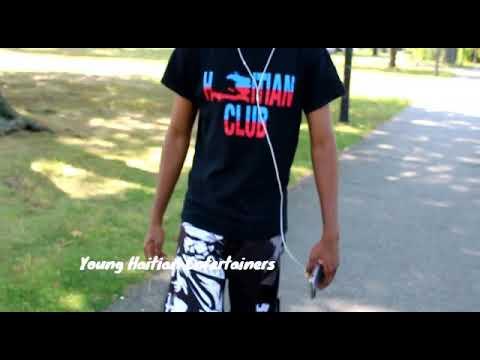 Young Haitians speak creole not Haiti