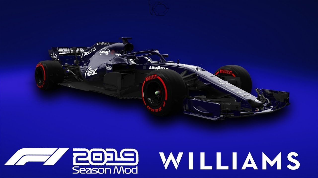 F1 2019 Williams Livery | Robert Kubica Gameplay