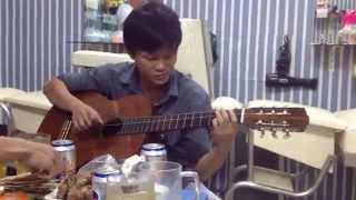 Tóc Em Đuôi Gà guitar solo Mitxi Tòng