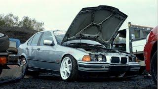 Skid Risk Birmingham x Norbs BMW E36 Drift