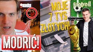 Spotkałem Modricia i straciłem kilka tysięcy złotych...