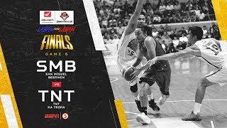 Full Game: G6: San Miguel vs TNT   PBA Commissioner's Cup 2019 Finals
