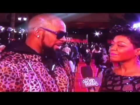 2015 Soul Train Music Awards Pre red carpet of R. Kelly