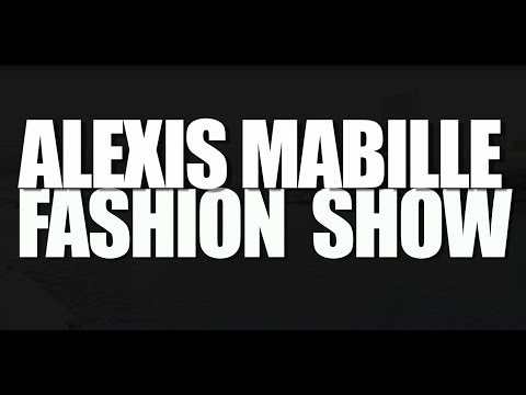 In&Out of Alexis Mabille fashion show (Summer 2014)