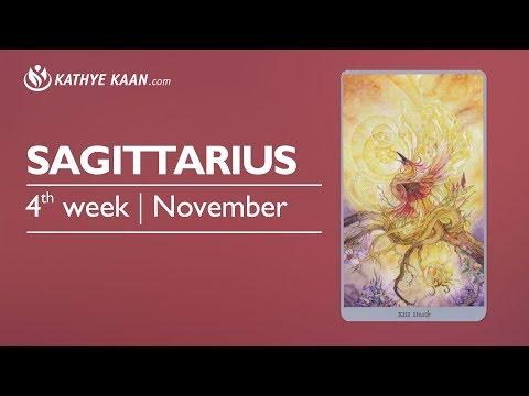 Sagittarius Weekly Reading Psychic Tarot Horoscope | Week 47 | 20 - 26 November